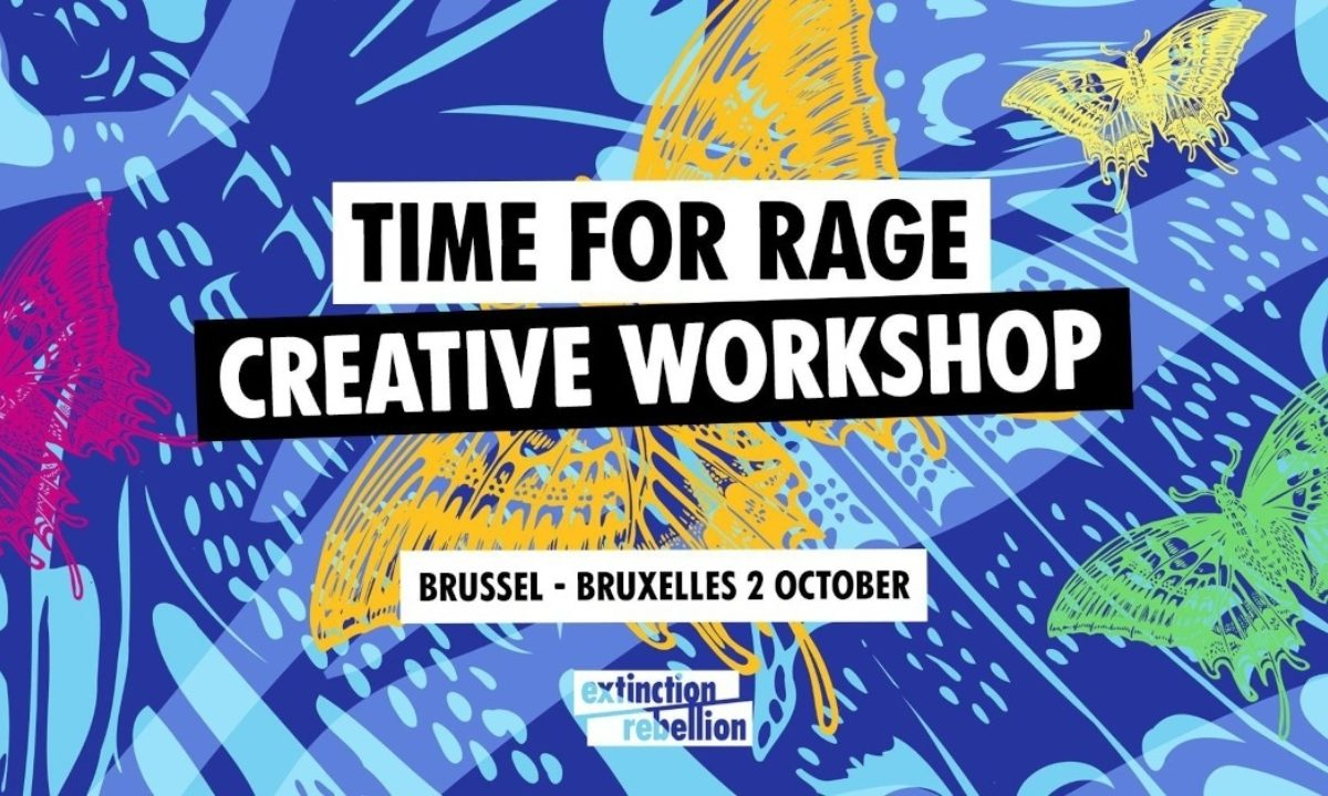 Time For Rage Creative Workshop 02/10
