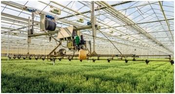 An example of a high-tech farm.